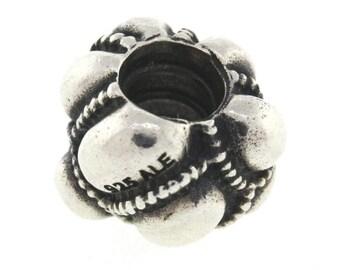 Pandora Bubble Charm Sterling Silver 925 - 4.2 Grams