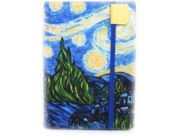 Kindle Paperwhite cover - Starry Night - Ready to ship - Van Gogh kindle touch cover - ereader case