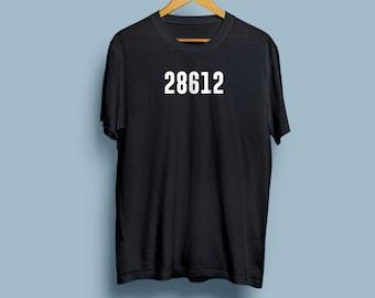 Zip code T-shirt - Zip Code Tee - Customize your own shirt - What's your zip code?