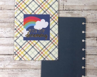 Never Stop Dreaming Mini Happy Planner Cover