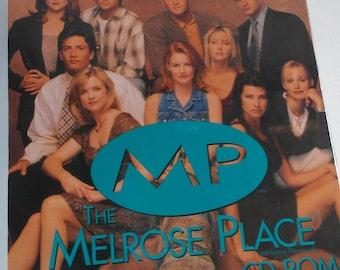 Melrose Place Computer CD-Rom NEW 1995 Windows Video Clips Trivia Calendar Day Planner Print Shop Screensavers