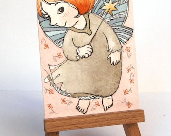 """The Pixie - """"Discarded Tales"""" ACEO series, #15"""