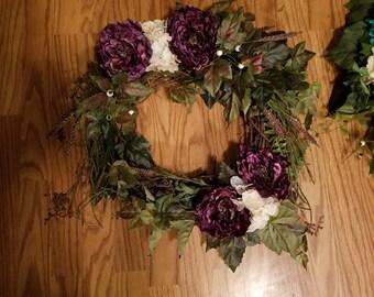 Lovely purple wreath