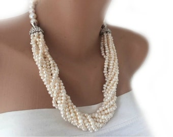 2018 Special Design Freshwater  Pearl Necklace