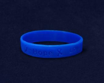 Colon Cancer Awareness Silicone Bracelet (RE-SILB-8)
