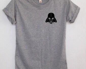 Darth Vader Tshrit unisex clothing Star wars shirt tumblr shirts pocket tshirt