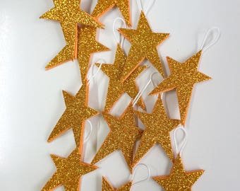 Tree decoration, glitter Star
