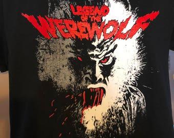 Legend of The Werewolf T-Shirt
