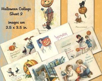 Halloween Collage Sheet 2