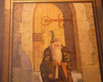 The Mysterious Stranger - Mark Twain - illu by C W Wyeth - 1916 first edition Very Fine Condition  - 7 color illustrations