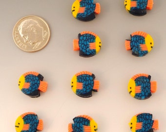 Polymer Clay Beads - set of 25 Destash