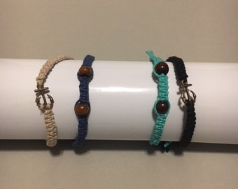 Handmade Hemp Cord Bracelets