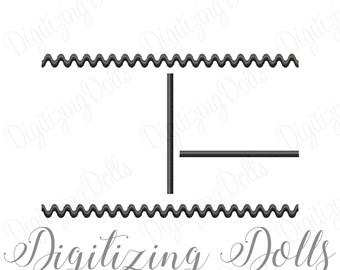 Subway Art Birth Announcement Template Machine Embroidery Design Digital File 4x4 5x5 6x6 7x7 8x8 INSTANT DOWNLOAD