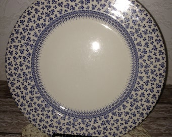 Blue and White  Plates, Set of Four Plates