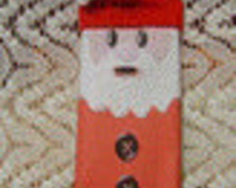 Santa Candy Wrapper Character Bar
