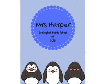 Penguin Love Teacher Planner 2018