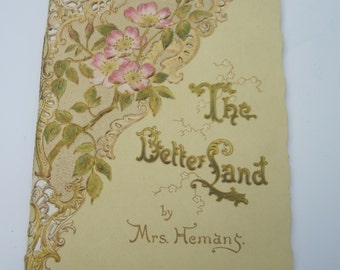 Vintage Poetry The Better Land Printed by Raphel Tuck & Sons no. 743 by Mrs. Hemans Illustrated by C Noakes