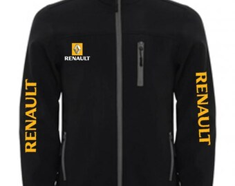 RENAUT Stylish Soft Shell Jacket Wind And Water Resistant