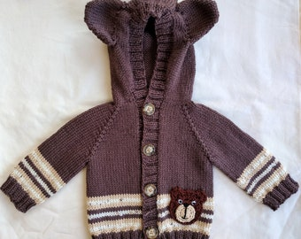Baby Bear Hooded Sweater