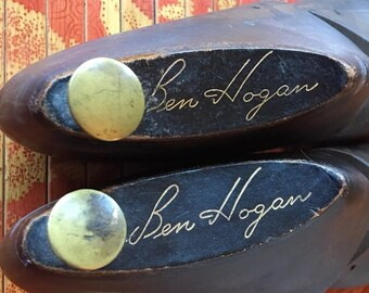 Vintage collectible ben hogan golf shoe foot memorabilia
