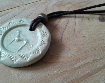 White greyhound necklace / Handmade greyhound jewelry / Unique ceramic necklace / Whippet jewelry / Greyhound jewelry / Greyhound gift