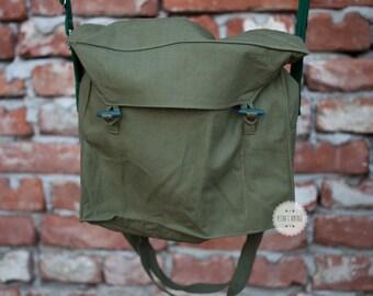 canvas messenger bag mens canvas backpack men canvas bag shoulder bag crossbody bag travel bag school bag soviet military messenger army