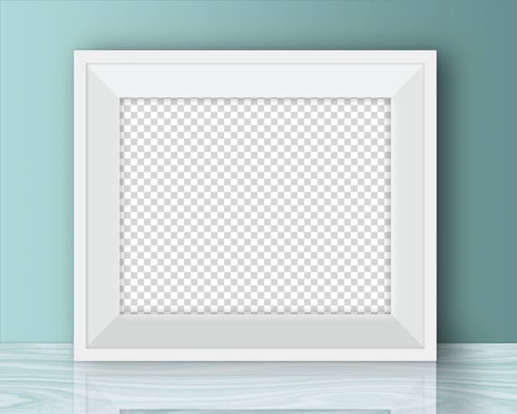 Horizontal poster mockup, 10 x 8 inches, 5 x 4 inches, 20 x 16 ...
