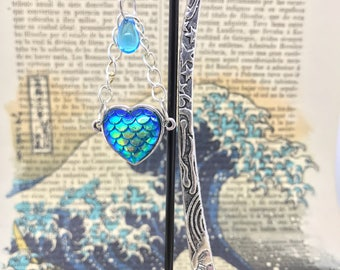 Mermaid Bookish Love-Bookish-Booklover-bookworm-Bookmark-Mermaid-witchy-the Sea witch-