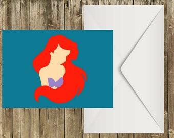 Ariel - The Little Mermaid - Postcard
