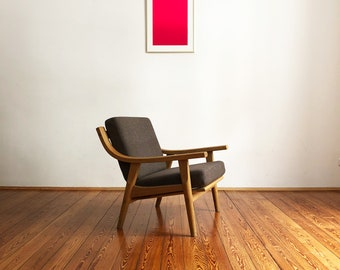 Armchair 530 Oak by Hans J. Wegner for Tama Danish mid century modern design