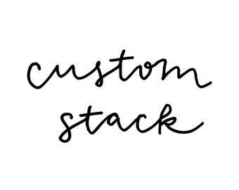 Custom Stack | 2+ Custom Bracelets