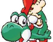 Baby Mario and Yoshi Cros...