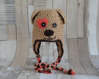 Dog hat, dog, crochet, crochet