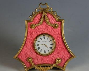 Desk Clock by Kitney & Co. London