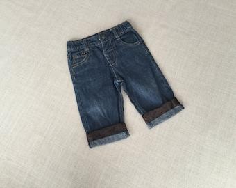 Denim upcycled boys jeans