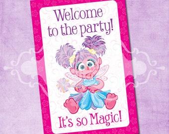 Abby Cadabby Door Sign  sc 1 st  Etsy & Abby door sign | Etsy