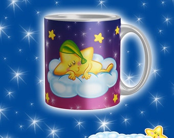 Cup Starry Night-Green Starlet