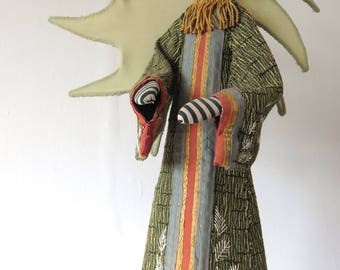 Creepus Textile Sculpture