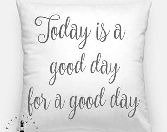Farmhouse Sweet Farmhouse Pillow Cover, Farmhouse Pillow, Today is a Good Day Pillow, Farmhouse Pillow, Farmhouse Style Pillow, Farmhouse