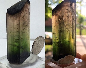 Multi colored tourmaline from Nambia 21 grams