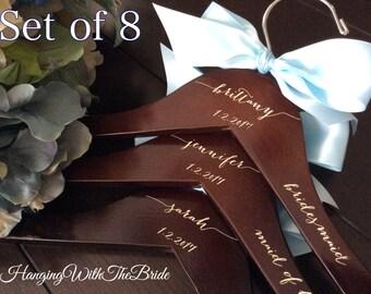Wedding dress hanger, Engraved Hanger, Custom Bridal Hangers, Bridesmaids gift, Wedding hangers, Custom hangers, Bride hanger, wedding gifts