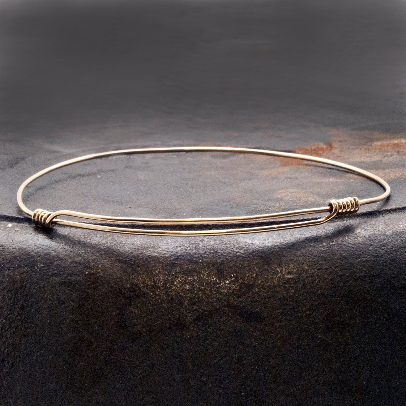 oval bracelets bangle gold cari thin or silver jewelry img by lo bangles stamped bracelet