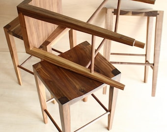Modern Minimalist Perch- Counter height Stool
