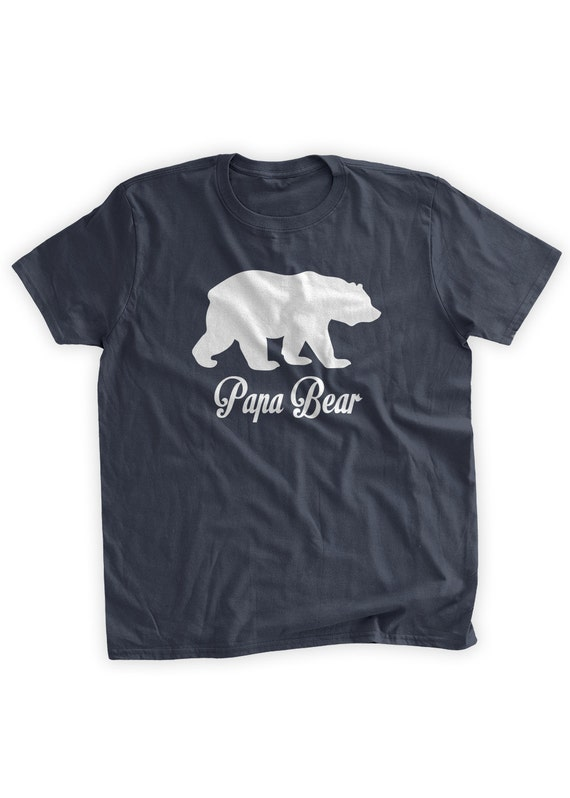 Papa bear t shirt grizzly bear grandparent gifts for papa publicscrutiny Gallery