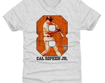 Cal Ripken Jr. Shirt | Baltimore Baseball | Men's Premium T Shirt | Cal Ripken Jr. Game O