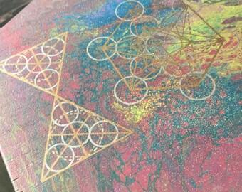 Custom Crystal Healing Board