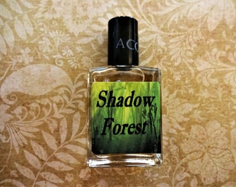 Shadow Forest Cologne Oil 1/2 oz. Forest Cologne, Woodsy Cologne, Masculine Cologne, Wilderness Cologne, Cologne Gift For Him
