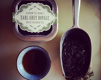 Earl Grey Royale Loose Leaf Tea 2oz. Tin