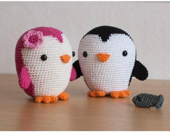 Crochet Pattern penguin amigurumi PDF