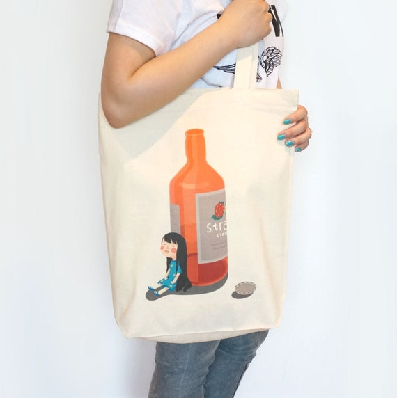 Lily have a drink Tote Bag